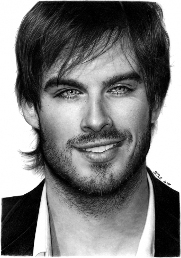Ian Somerhalder by helionn